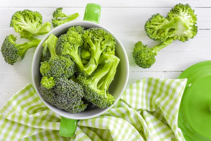 broccoli-high protein foods